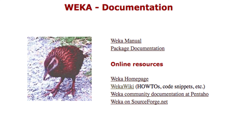 Weka Documentation